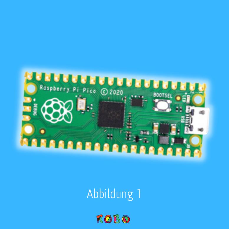 Pins sind Verbindung von Raspberry Pi Pico.