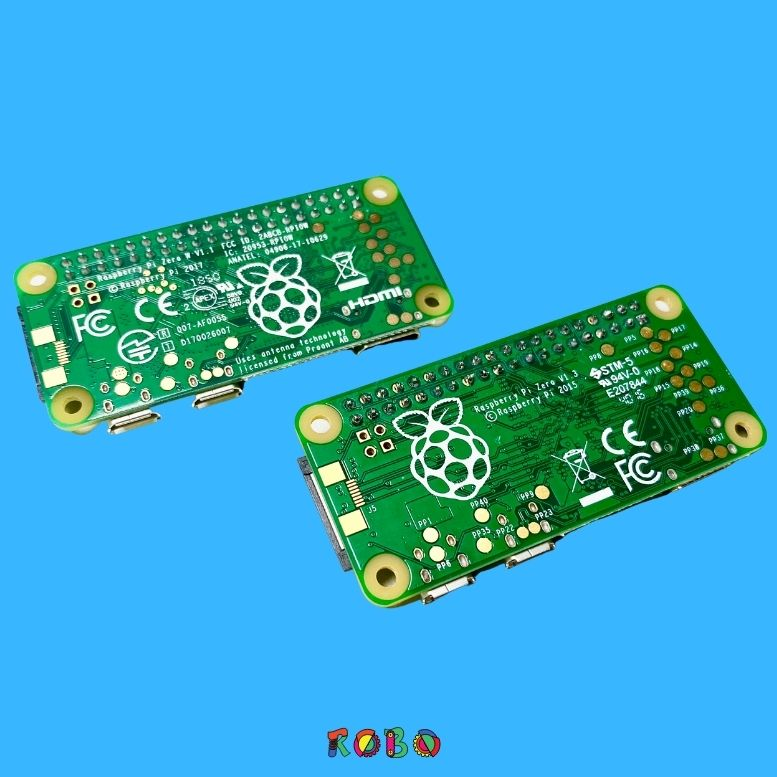 Neben dem Mini-HDMI-Anschluss bietet der Raspberry Pi Zero W auch einen Micro-USB-Anschluss und ein Micro-USB-Netzteil, Composite-Video und einen Reset-Anschluss.