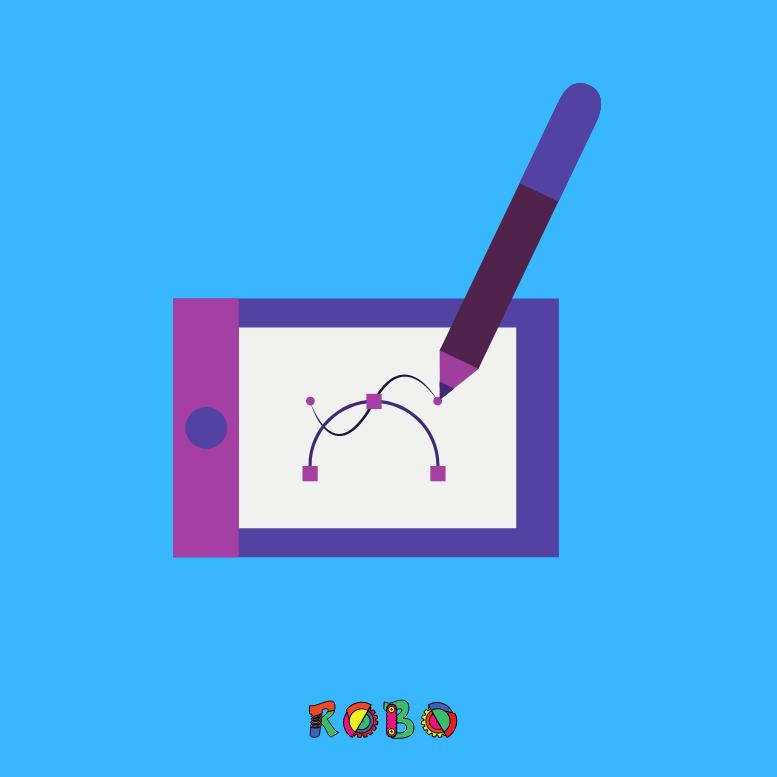 Digitale Schreibtafel für Kinder