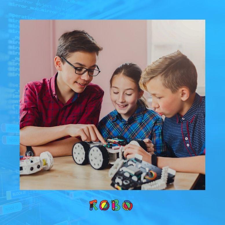 Mit den unzähligen Lernmöglichkeiten liefern wir Kindern eine Möglichkeit, sich für die Programmierwelt zu begeistern und individuell auszudrücken.
